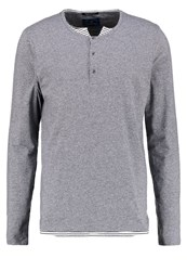 Scotch And Soda Long Sleeved Top Graphite Melange Grey
