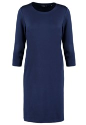 Opus Wenda Jersey Dress Lush Blue Light Blue