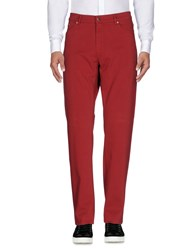 Harmont And Blaine Casual Pants Brick Red