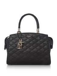 Guess Penelope Satchel Bag Black