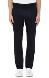 Marc By Marc Jacobs Twill Trousers Blue