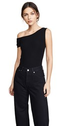 Getting Back To Square One Shoulder Tee Black
