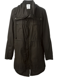 Lost And Found Oversized Parka Black