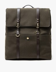 Mismo M S Backpack In Pine Green Pine Green Dark