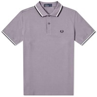 Fred Perry Authentic Twin Tipped Polo Purple