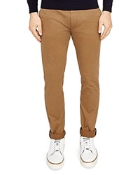 Ted Baker Tapcor Tapered Fit Chino Pants Tan