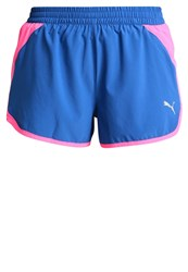 Puma Blast Sports Shorts True Blue Knockout Pink