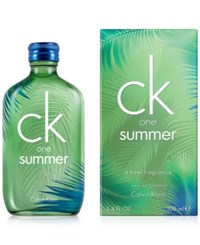 Calvin Klein Ck One Summer Eau De Toilette Spray 3.4 Oz