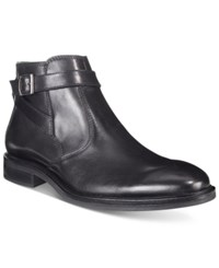 Alfani Men's Noah Side Strap Boots Only At Macy's Men's Shoes Black