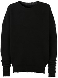 Unravel Project Cashmere Jumper Black