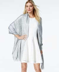 Style And Co. Paisley Jacquard Wrap Only At Macy's