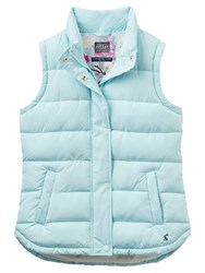 Joules Eastleigh Padded Gilet Cool Blue