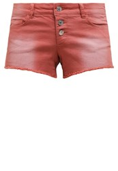 Only Onlcarrie Denim Shorts Aragon Brown