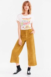 Bdg Margot Chino High Rise Culotte Pant Chartreuse