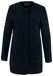 Vero Moda Vmvelvy Short Coat Navy Blazer Dark Blue