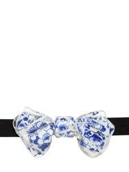 Christian Correnti Resin And Printed Ceramic Bow Tie