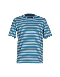 Roberto Collina Topwear T Shirts Men Deep Jade