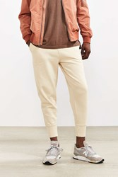 Urban Outfitters Uo Terry Fleece Jogger Pant Cream