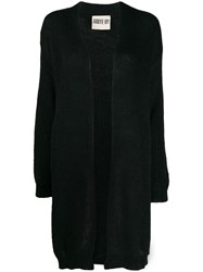 Aniye By Open Front Knit Cardigan Black