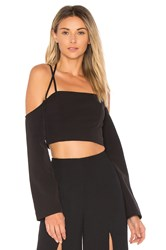 Finders Keepers Mirror Image Top Black