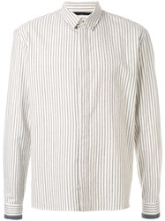 Haider Ackermann Striped Shirt White