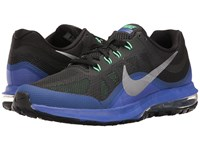Nike Air Max Dynasty 2 Black Metallic Cool Grey Paramount Blue Men's Running Shoes