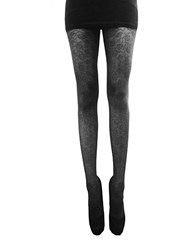 Zac Posen Baby Rose Lace Tights Black