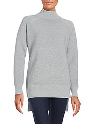 French Connection Fresh Ottoman Long Sleeve Pullover Grey