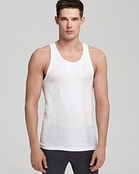 2Xist 2 X Ist Ribbed Tank Pack Of 3 White