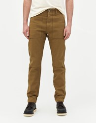 Rogue Territory Weekender Safari Pant In Tan Bull Denim Size 28 100 Cotton