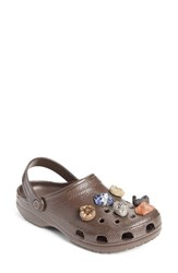 Christopher Kane Women's X Crocs Tm Multi Stone Clog Sandal Brown