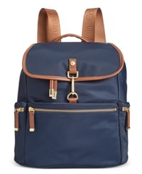 Calvin Klein Clip Backpack A Macy's Exclusive Style Navy