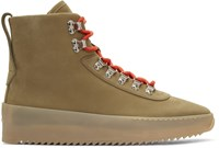 Fear Of God Beige Hiking Boots