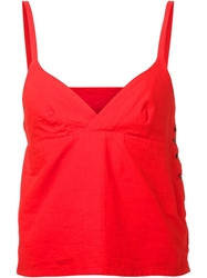Arts And Science Triangle Camisole Top Red