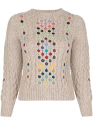 Rosie Assoulin Contrasting Cable Knit Jumper 60