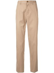 Kent And Curwen Classic Chino Trousers Brown