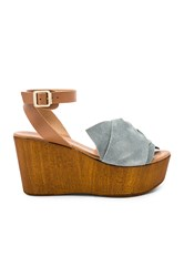 Seychelles Deep Breath Wedge Slate