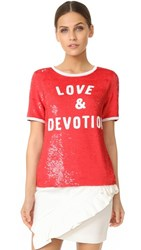 Ashish Love And Devotion T Shirt Red