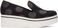 Stella Mccartney Black Polka Dot Binx Sneakers
