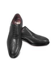 Fratelli Borgioli Cayenne Brogued Wingtip Oxford Black