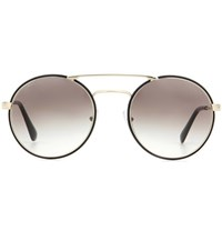 Prada Round Sunglasses Black
