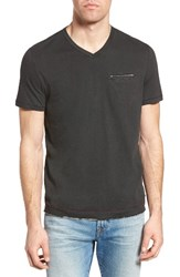 Jeremiah Men's Gus Pad Pocket V Neck T Shirt Phantom