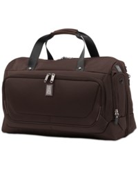 Travelpro Crew 11 Carry On Smart Duffel Bag Mahogany Brown