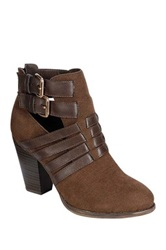 Oppo Heather Strappy Bootie Brown