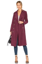 Bb Dakota Jack By Wellington Coat Burgundy