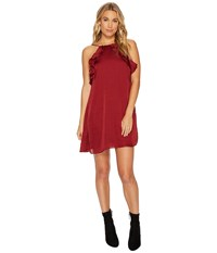 Lucy Love P.S. I You Dress Port Burgundy