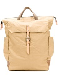 Ally Capellino Fin Large Backpack Neutrals