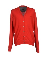 Henry Cotton's Cardigans Red