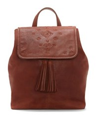 Lucky Brand Suede Backpack Rye