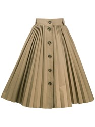 Red Valentino Pleated Mid Length Skirt 60